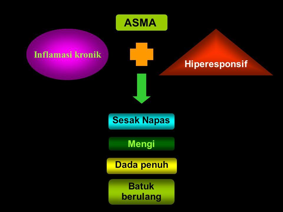 ASMA Inflamasi kronik Hiperesponsif Sesak Napas Mengi Dada penuh