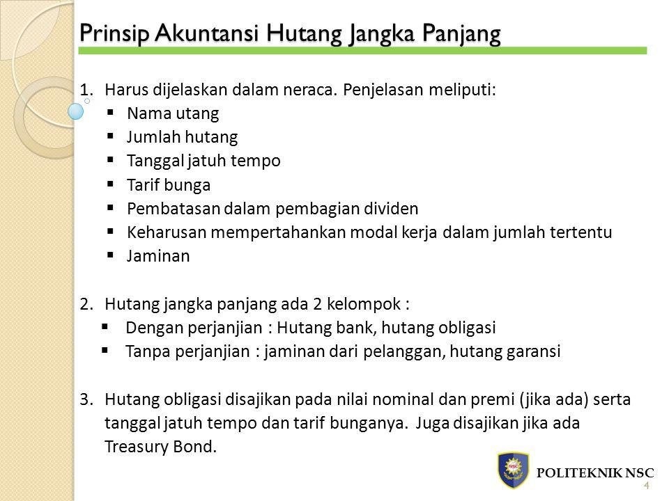 Prinsip Akuntansi Hutang Jangka Panjang