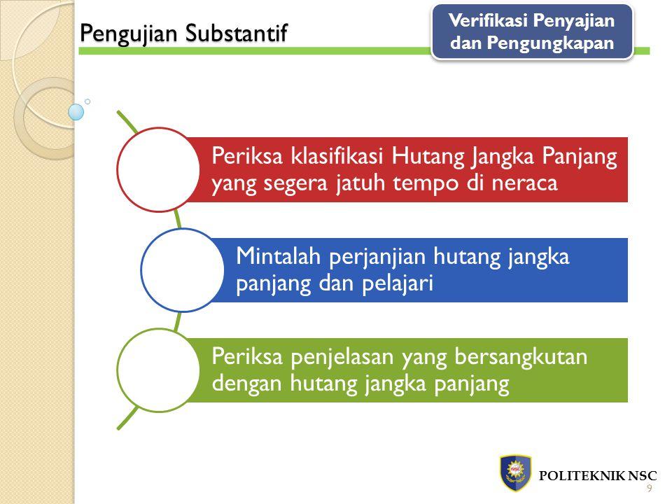 Verifikasi Penyajian dan Pengungkapan