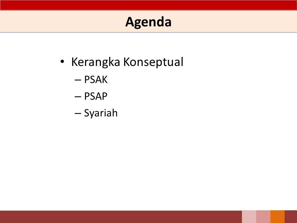 Agenda Kerangka Konseptual PSAK PSAP Syariah