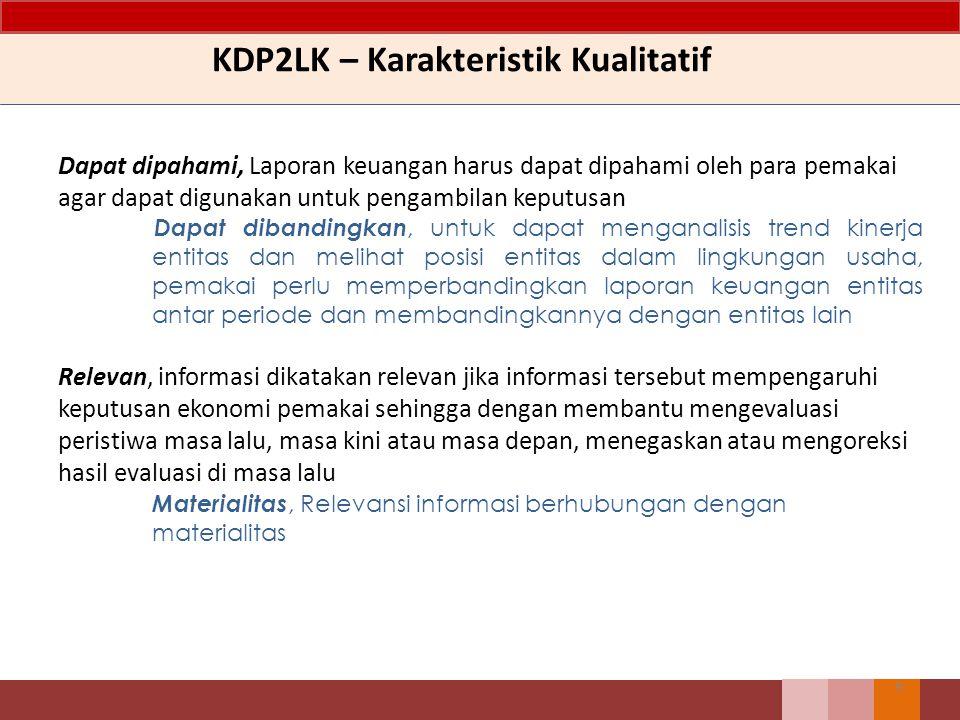 KDP2LK – Karakteristik Kualitatif
