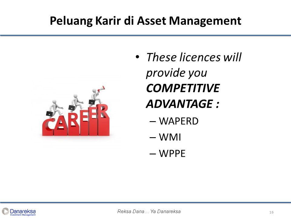 Peluang Karir di Asset Management
