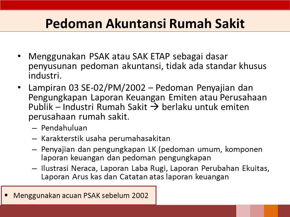 Pedoman Akuntansi Rumah Sakit