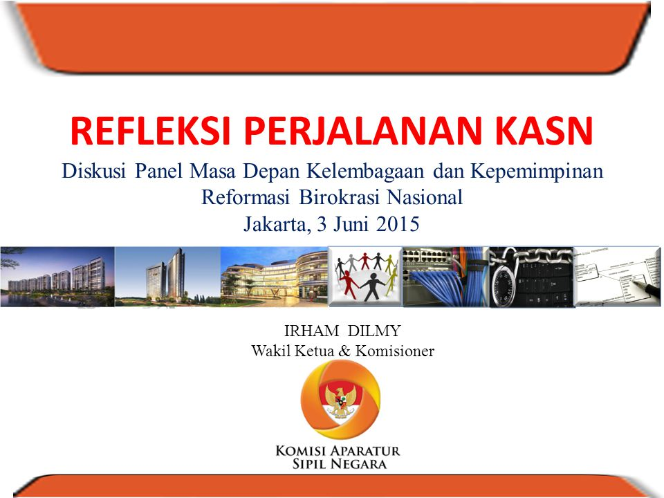 IRHAM DILMY Wakil Ketua & Komisioner
