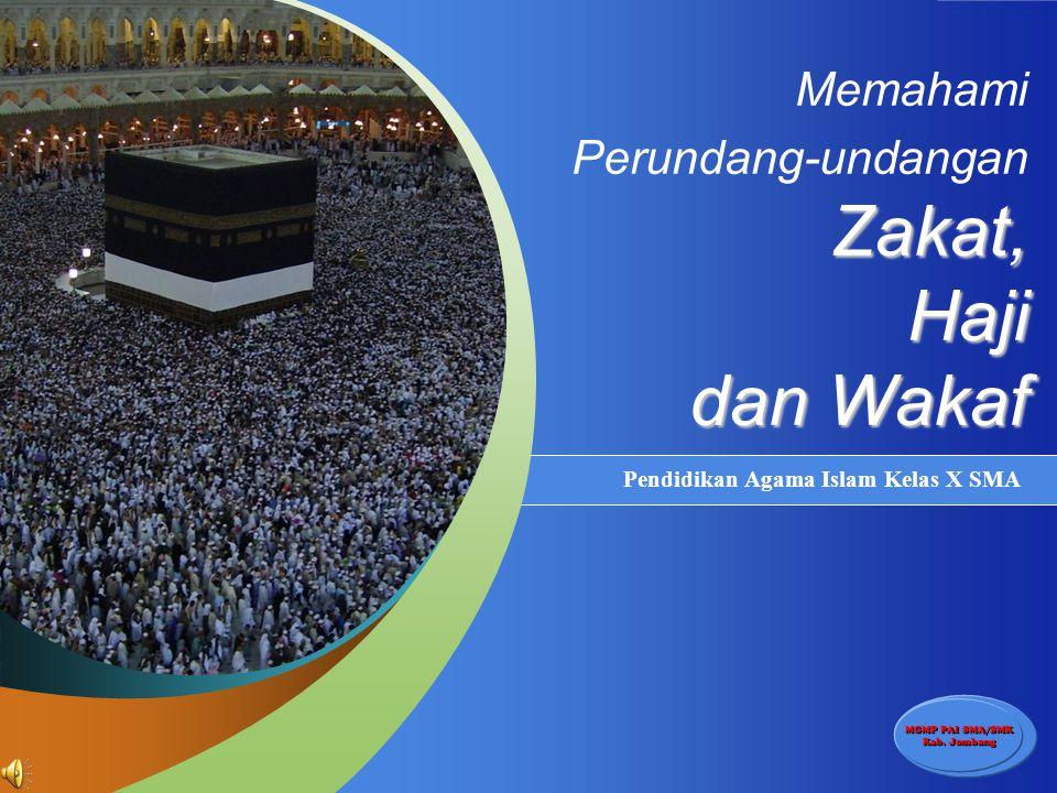 Memahami Perundang-undangan Zakat, Haji dan Wakaf
