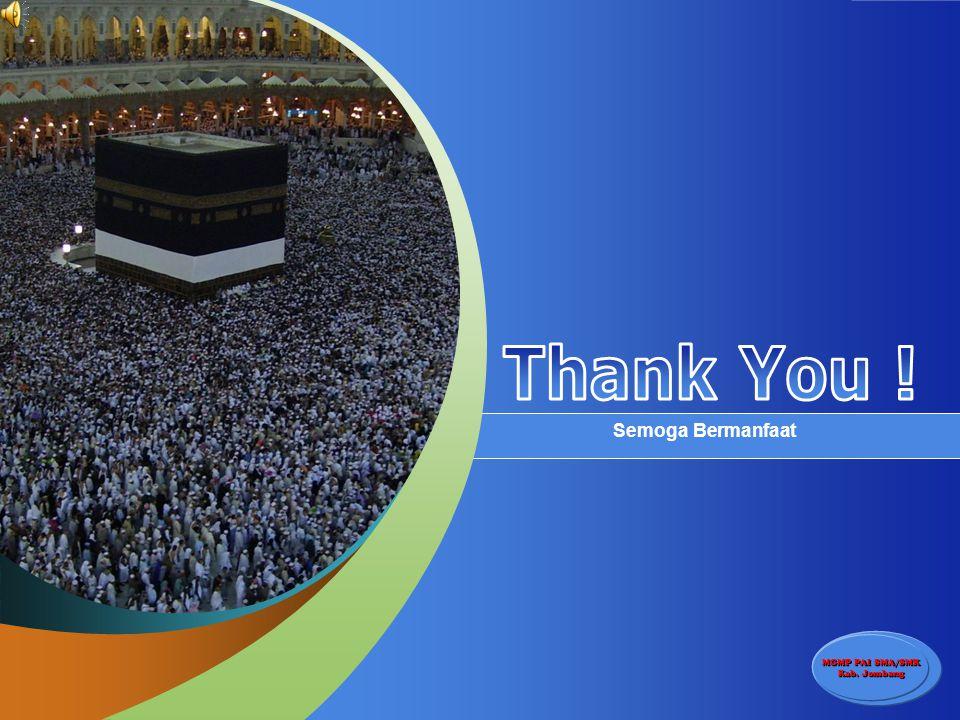 Thank You ! Semoga Bermanfaat