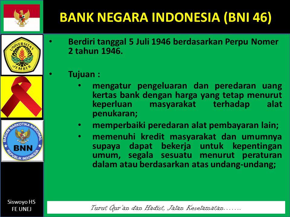 BANK NEGARA INDONESIA (BNI 46)