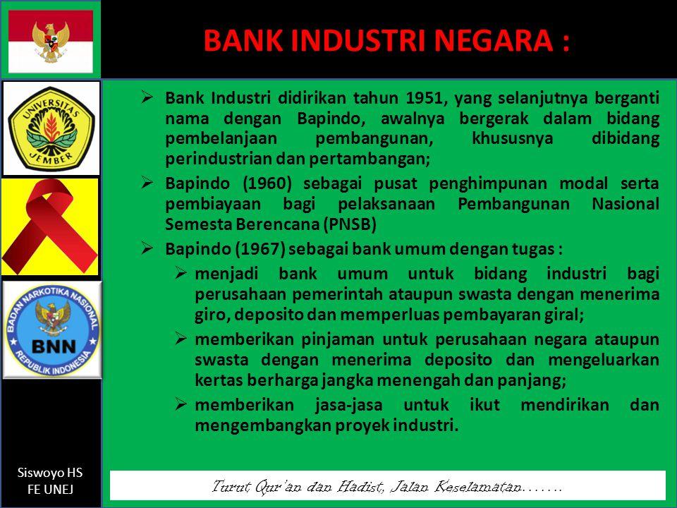 BANK INDUSTRI NEGARA :