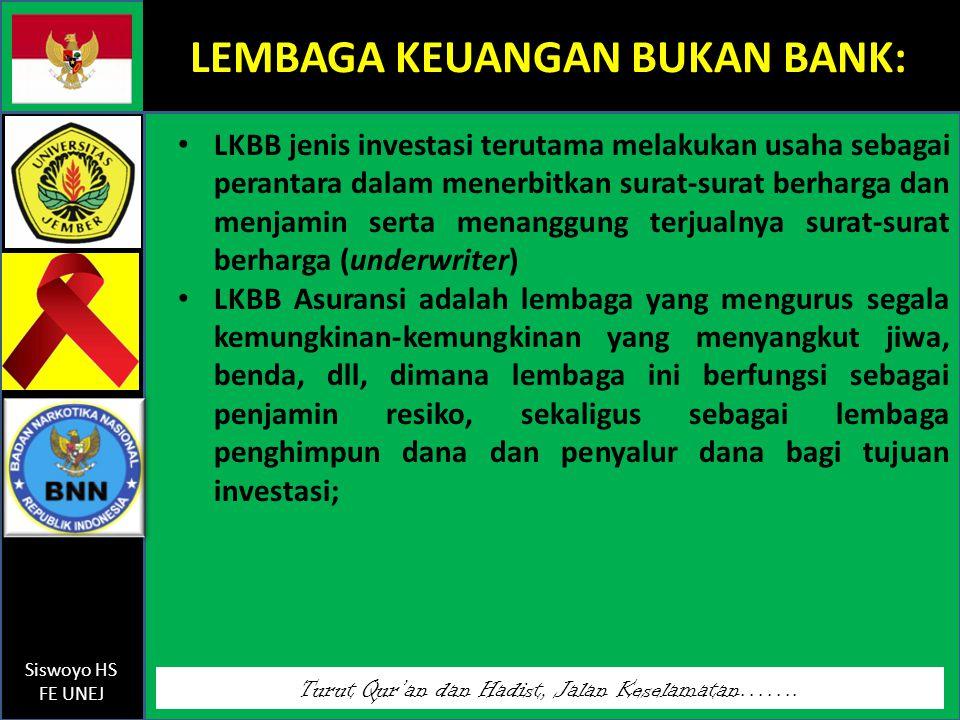 LEMBAGA KEUANGAN BUKAN BANK: