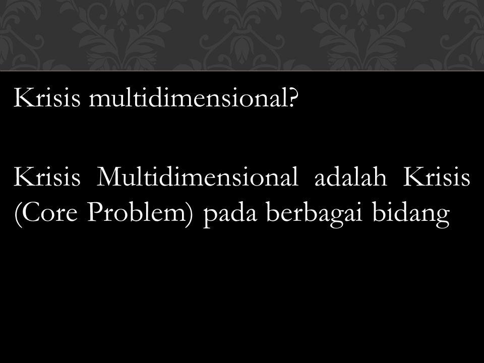 Krisis multidimensional
