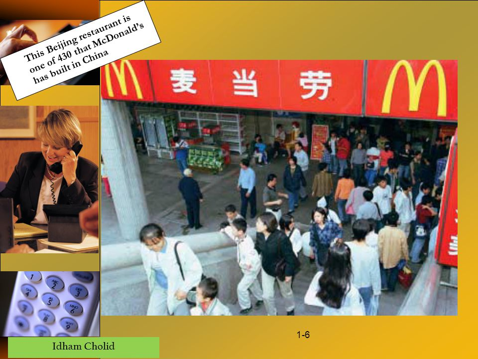 This Beijing restaurant is one of 430 that McDonald's has built in China