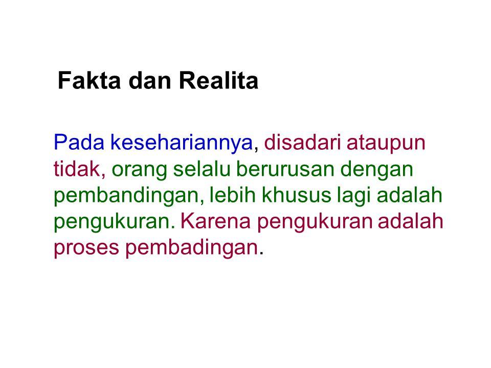 Fakta dan Realita