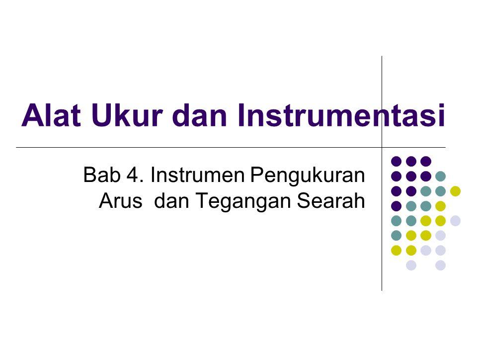 Alat Ukur dan Instrumentasi