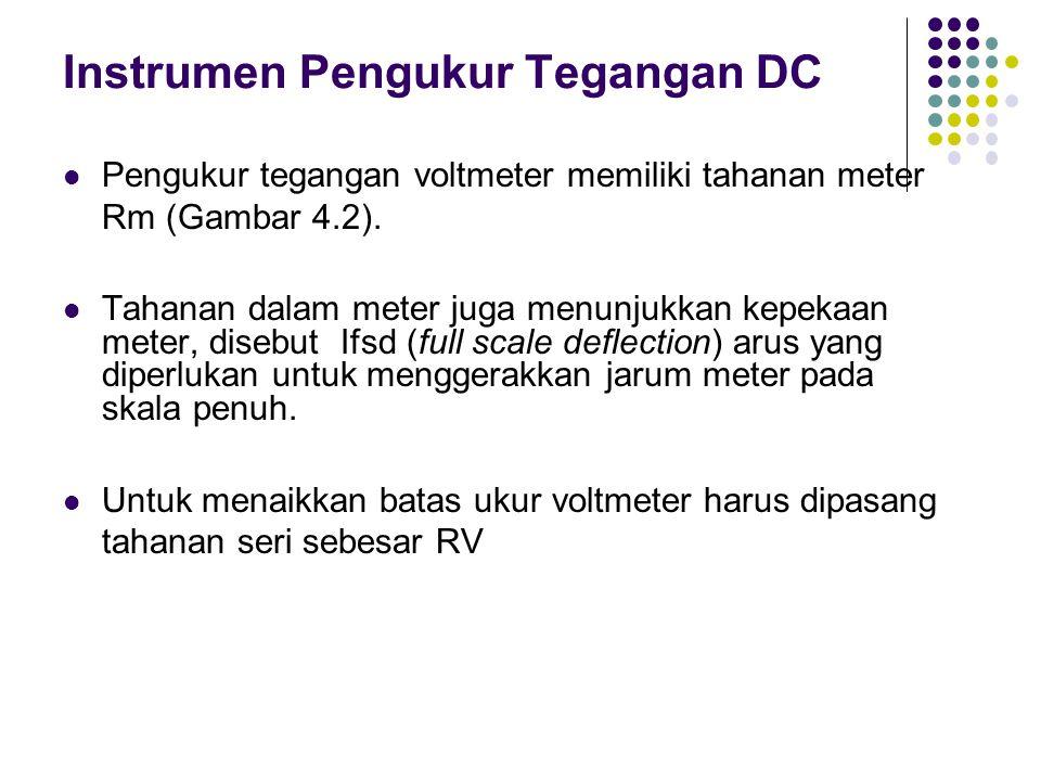 Instrumen Pengukur Tegangan DC