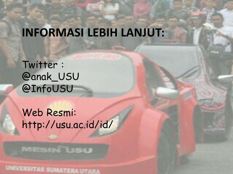 Informasi lebih lanjut: