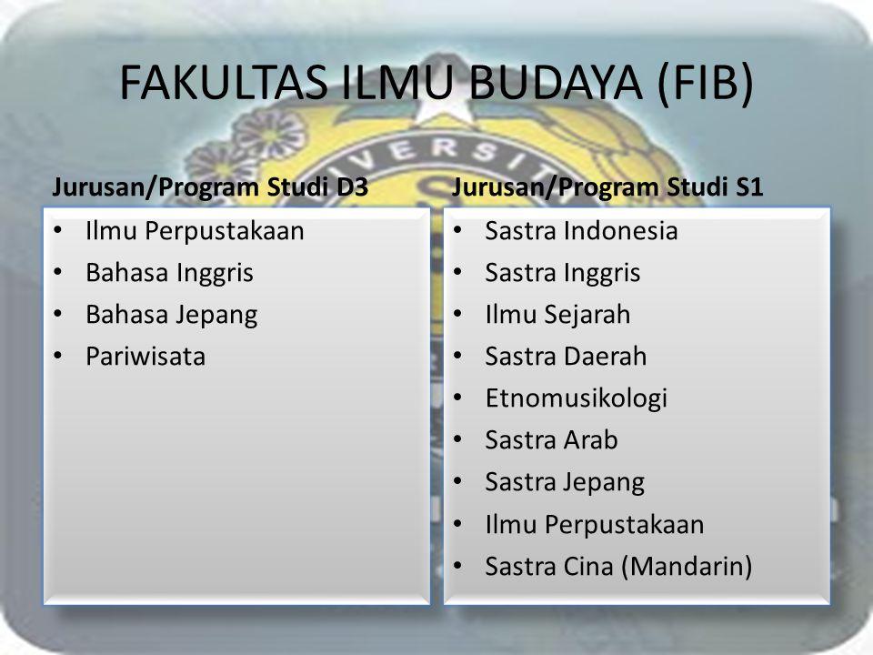 FAKULTAS ILMU BUDAYA (FIB)