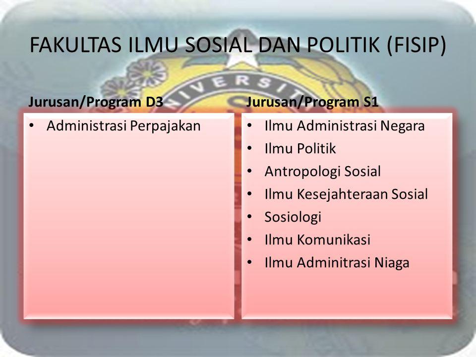FAKULTAS ILMU SOSIAL DAN POLITIK (FISIP)