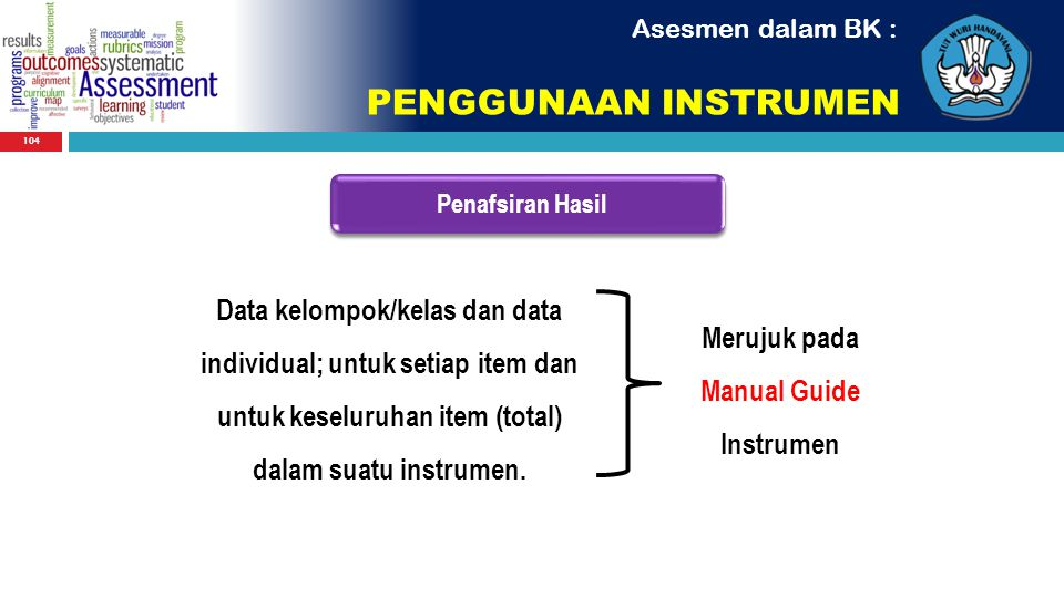 Manual Guide Instrumen