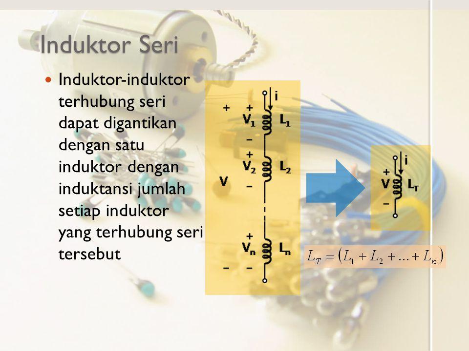 Induktor Seri
