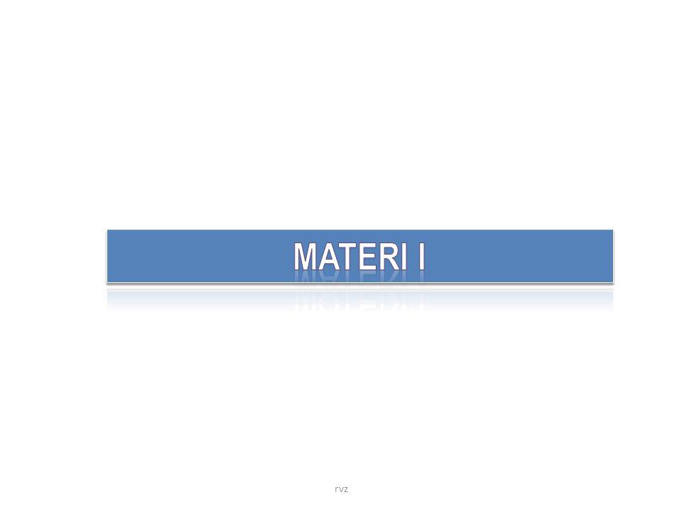 MATERI I rvz
