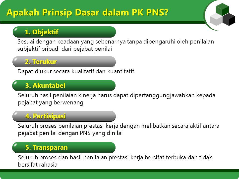 Apakah Prinsip Dasar dalam PK PNS