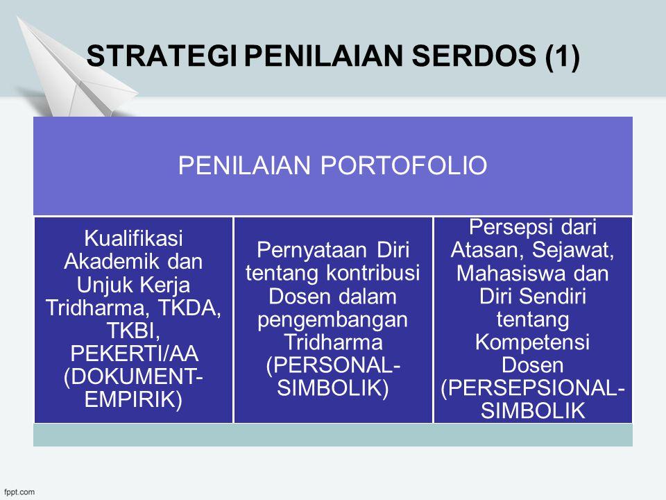 STRATEGI PENILAIAN SERDOS (1)