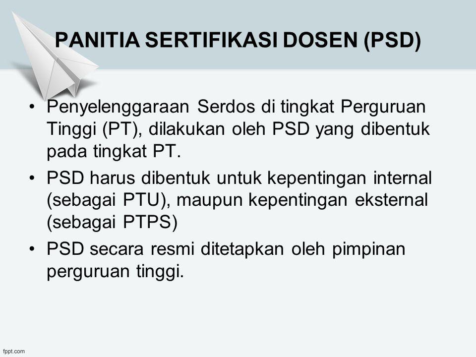 PANITIA SERTIFIKASI DOSEN (PSD)