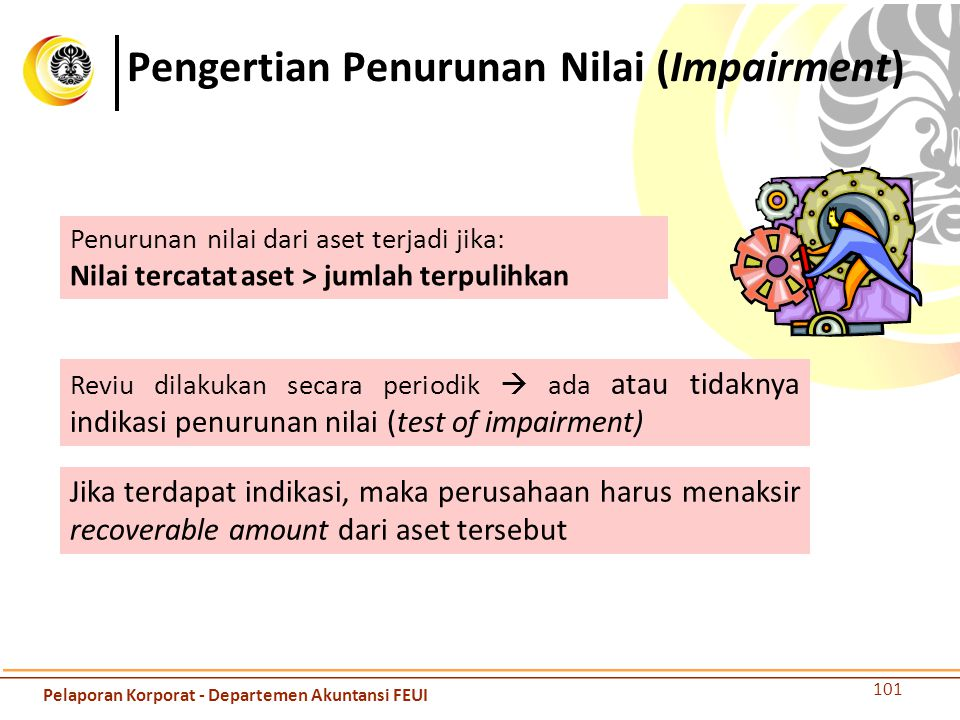 Pengertian Penurunan Nilai (Impairment)