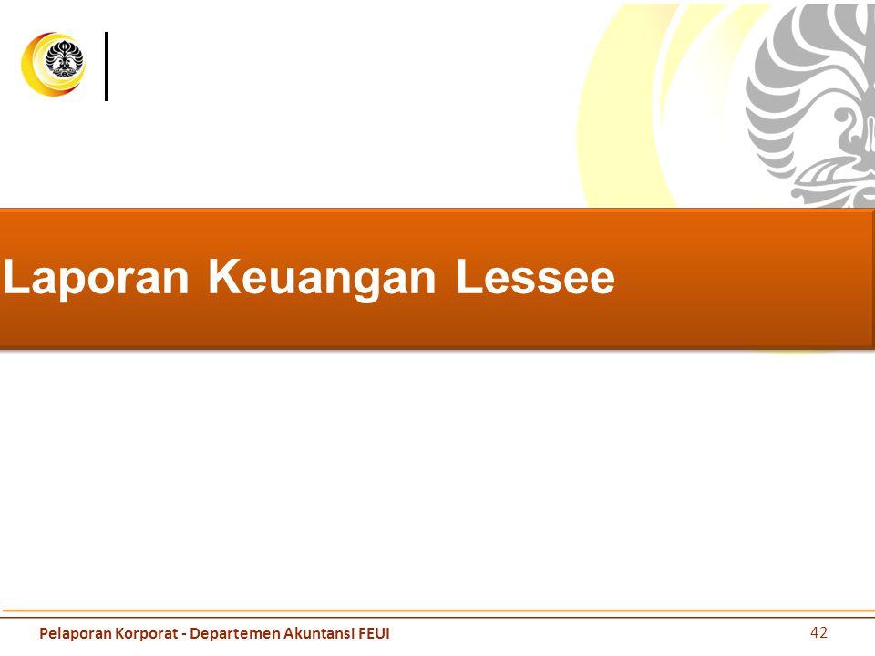 Laporan Keuangan Lessee