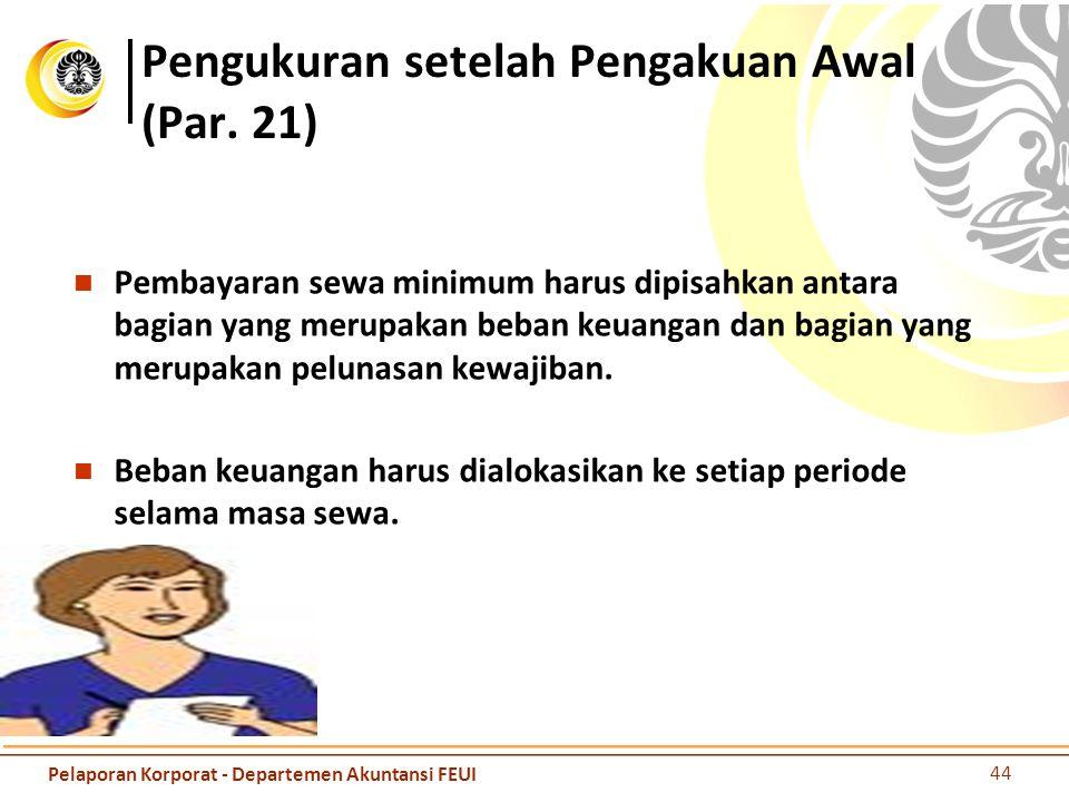 Pengukuran setelah Pengakuan Awal (Par. 21)