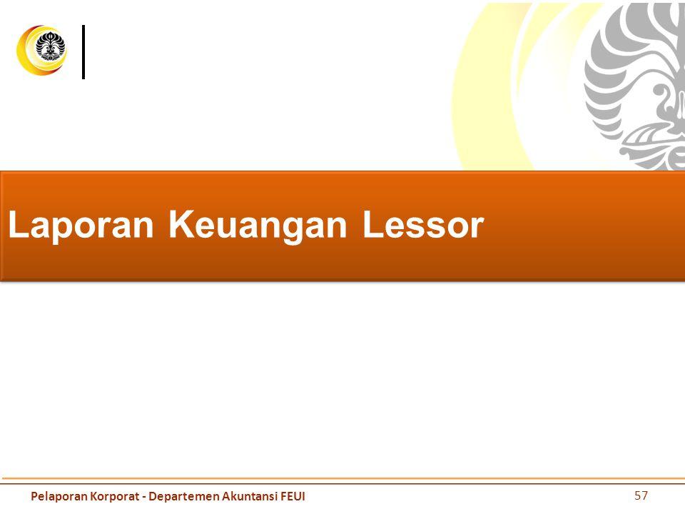Laporan Keuangan Lessor