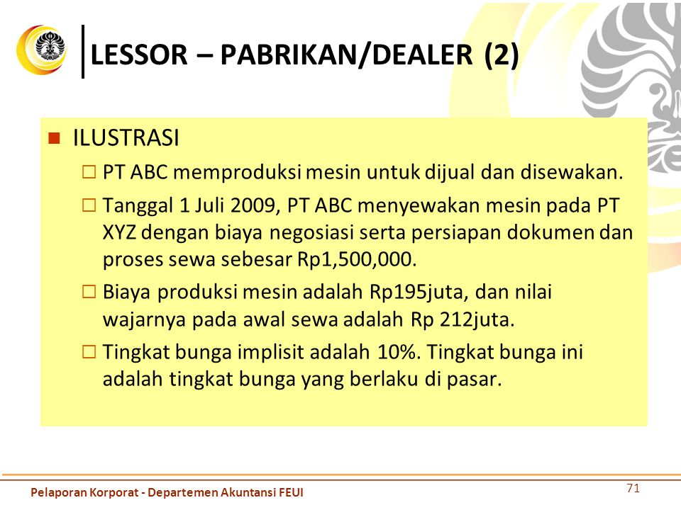 LESSOR – PABRIKAN/DEALER (2)