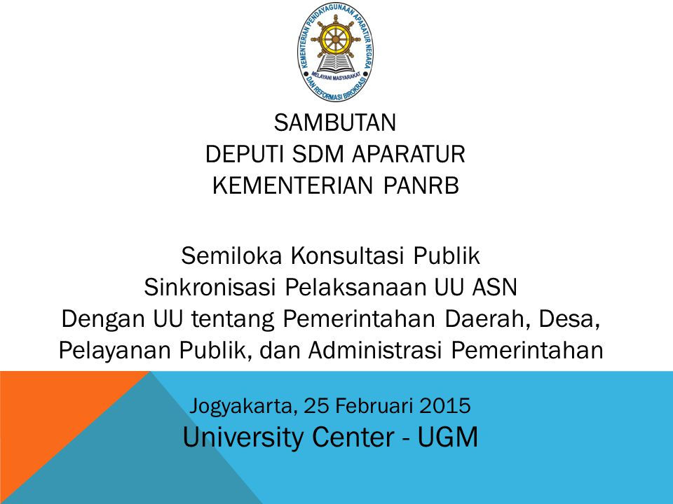 University Center - UGM