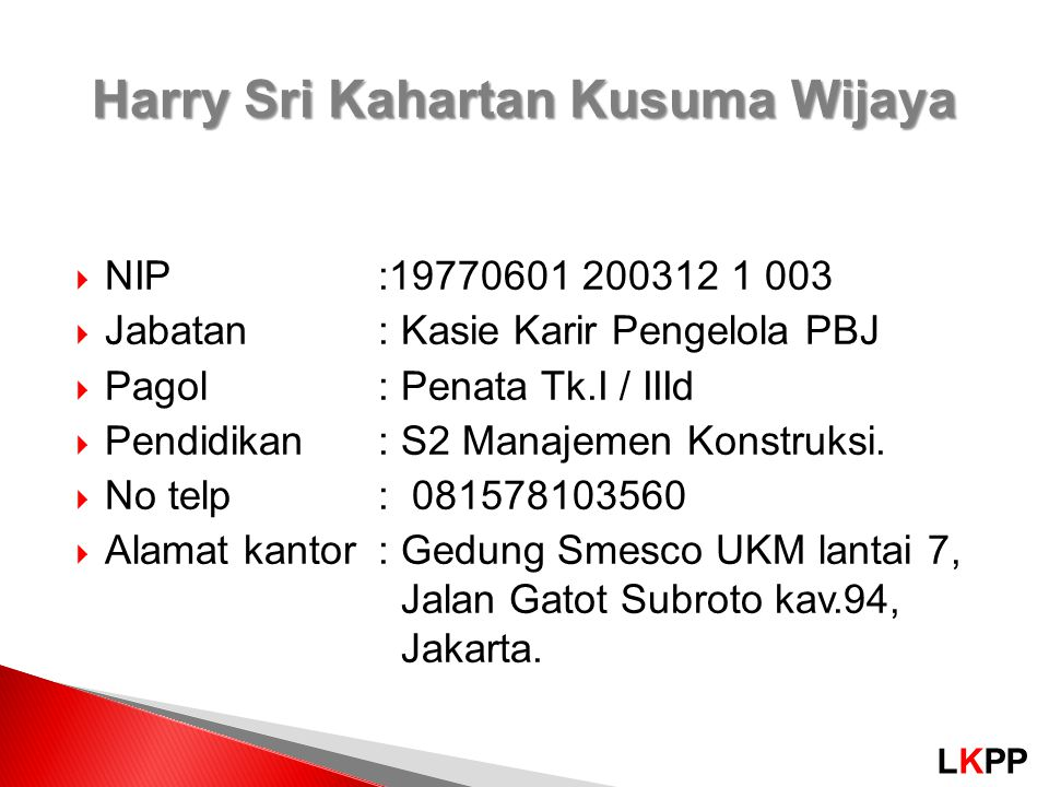 Harry Sri Kahartan Kusuma Wijaya