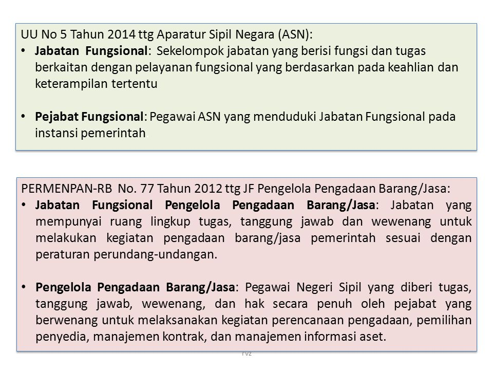 UU No 5 Tahun 2014 ttg Aparatur Sipil Negara (ASN):
