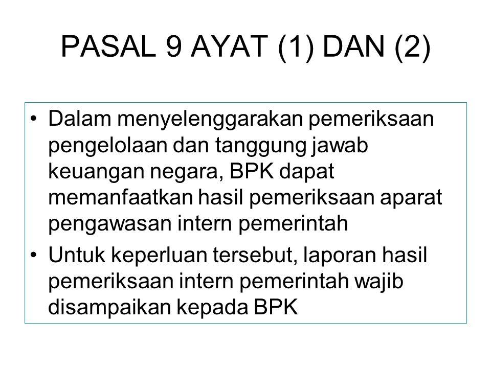 PASAL 9 AYAT (1) DAN (2)