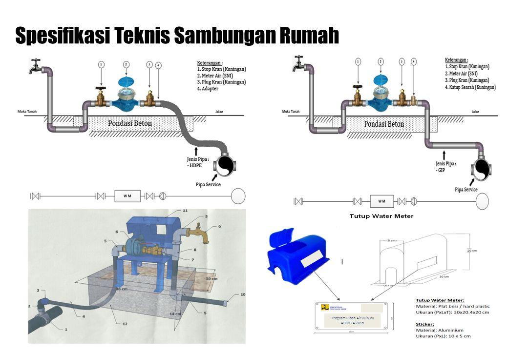 Spesifikasi Teknis Sambungan Rumah