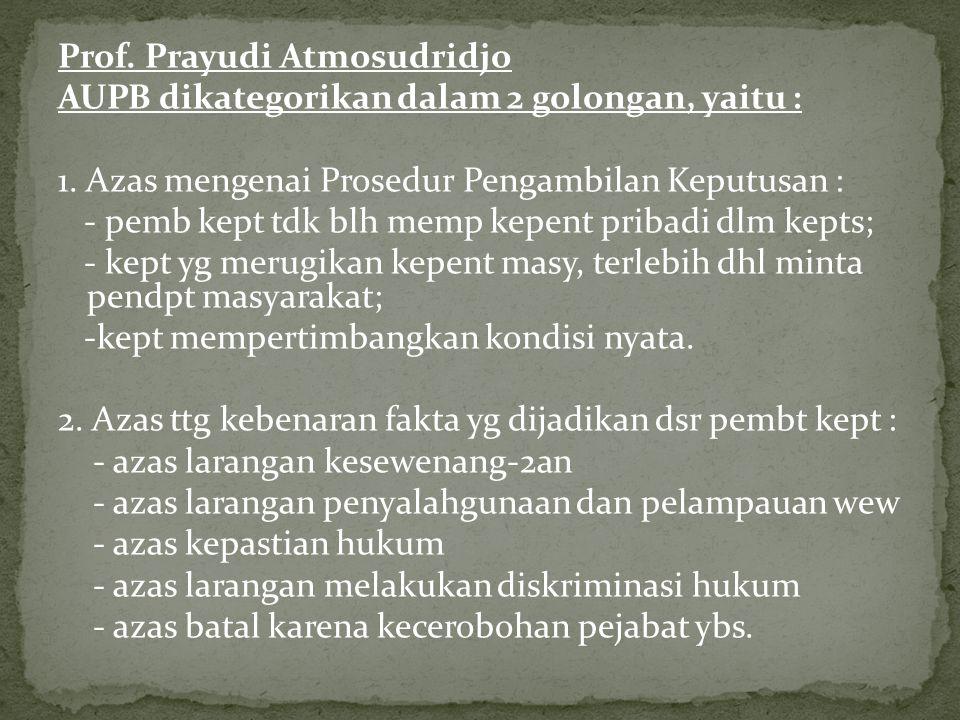 Prof. Prayudi Atmosudridjo