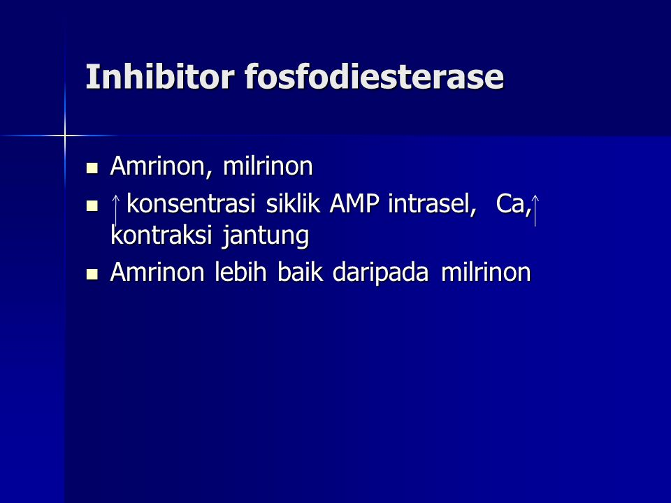 Inhibitor fosfodiesterase