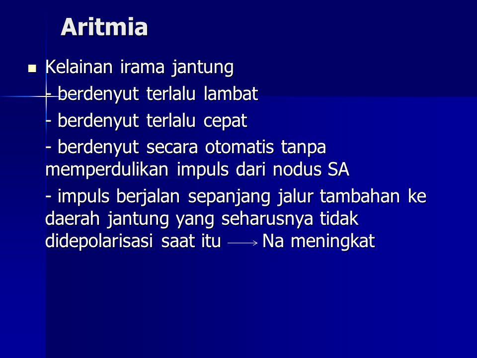 Aritmia Kelainan irama jantung - berdenyut terlalu lambat