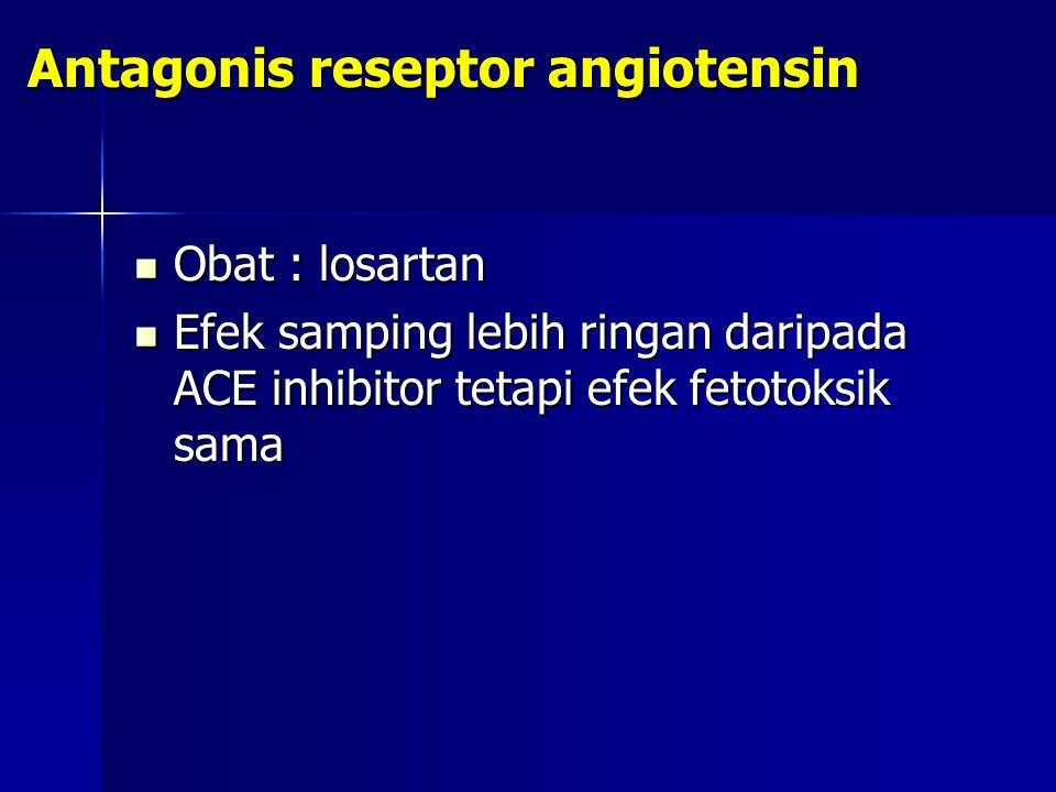 Antagonis reseptor angiotensin