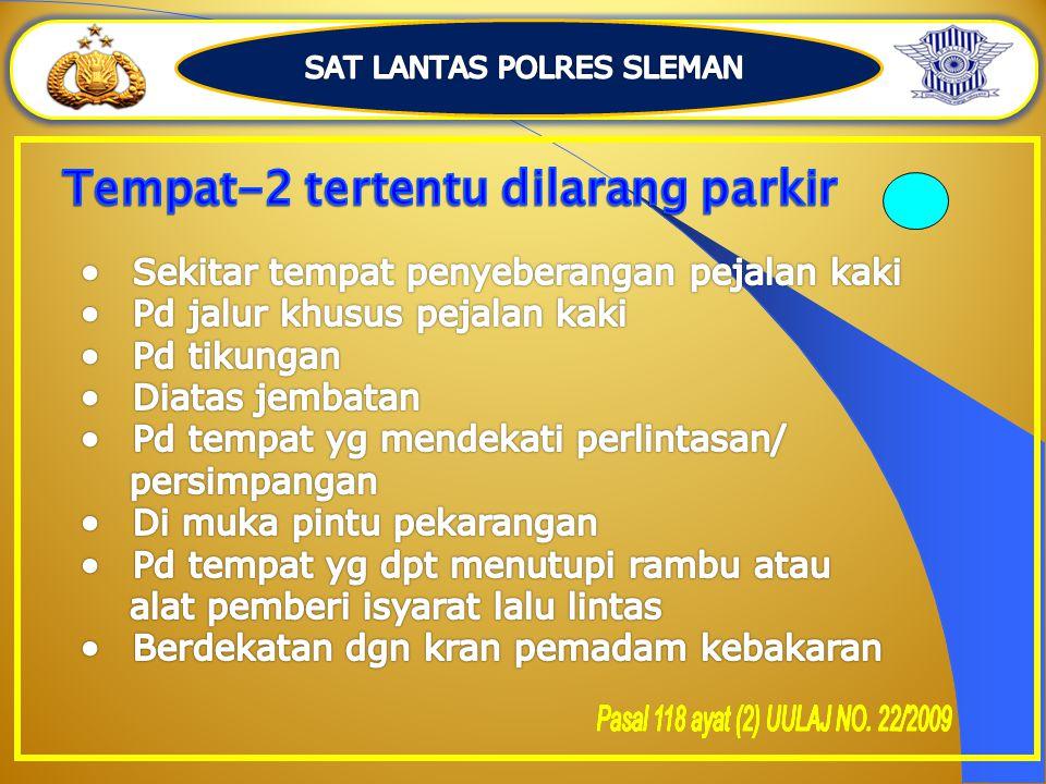 SAT LANTAS POLRES SLEMAN