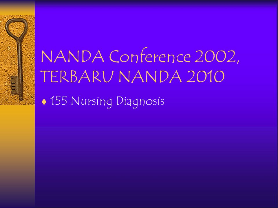 NANDA Conference 2002, TERBARU NANDA 2010