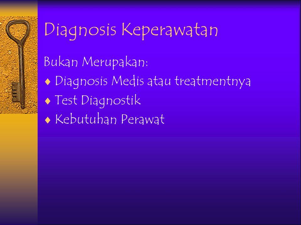 Diagnosis Keperawatan