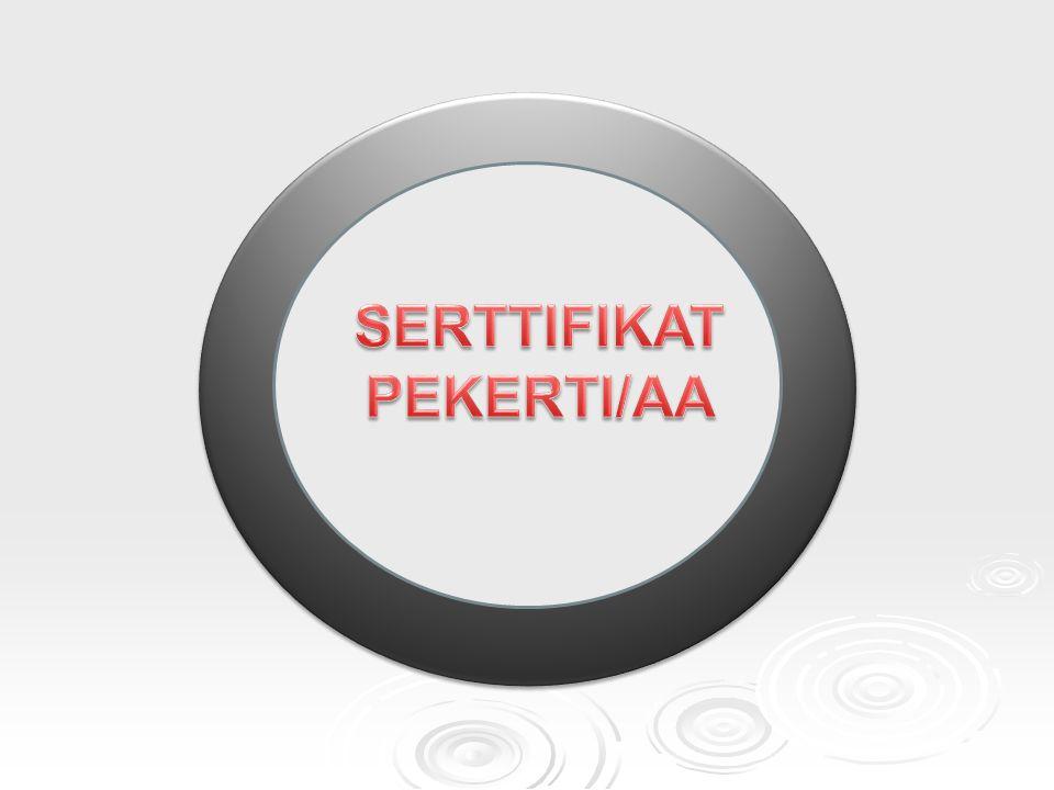 SERTTIFIKAT PEKERTI/AA