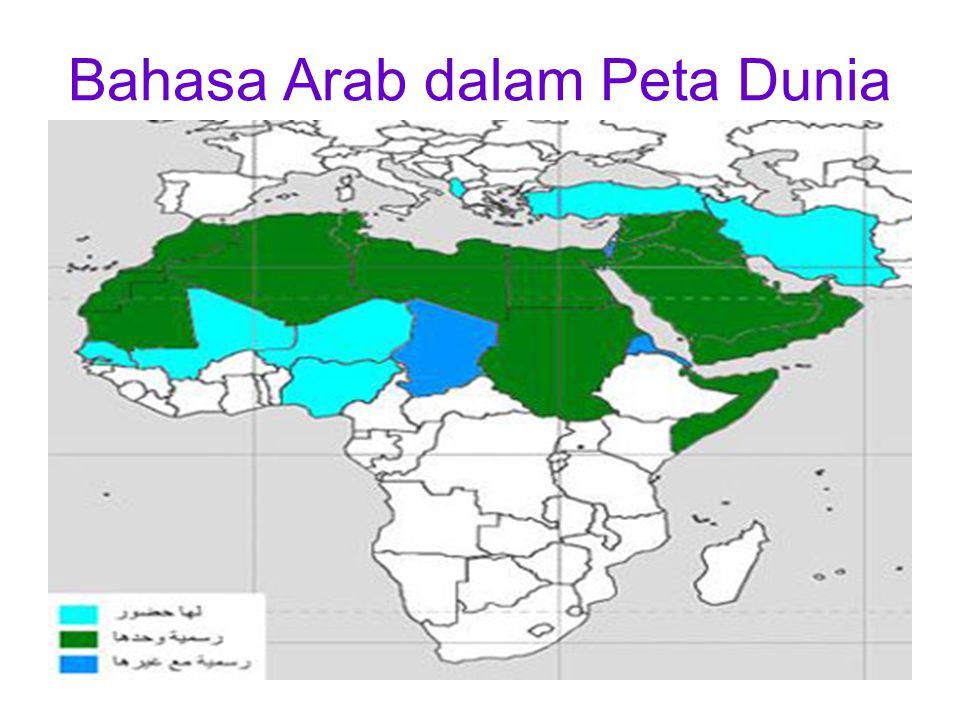 Bahasa Arab dalam Peta Dunia