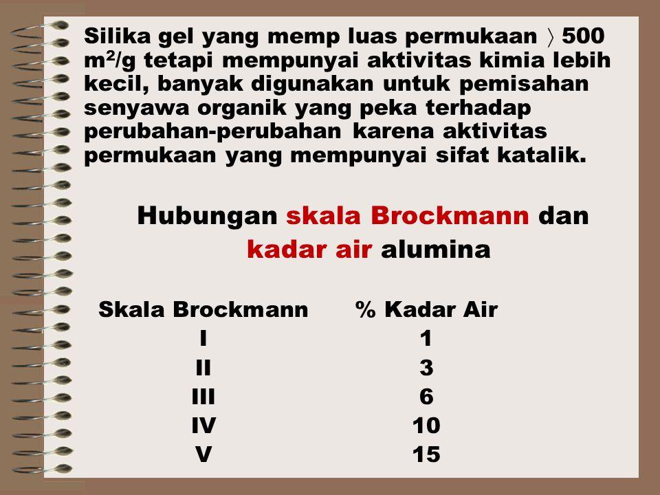 Hubungan skala Brockmann dan