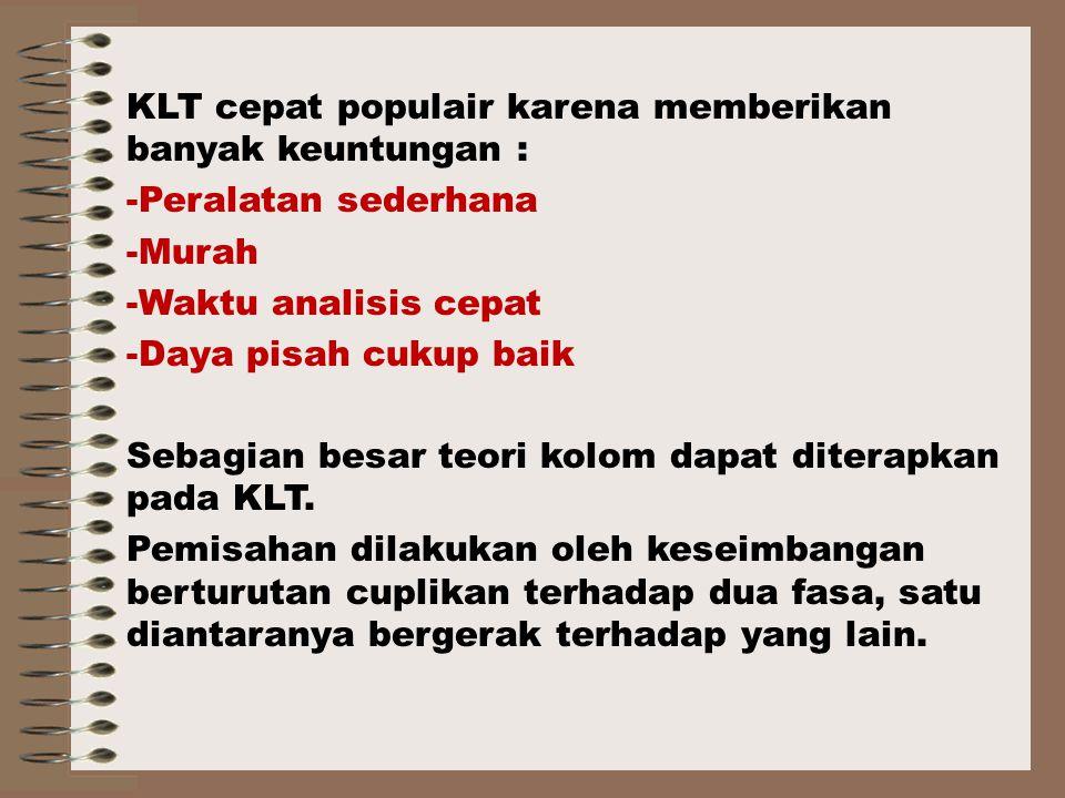 KLT cepat populair karena memberikan banyak keuntungan :