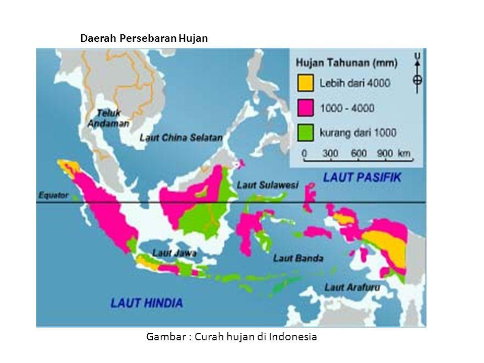 Daerah Persebaran Hujan