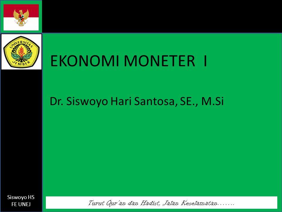 Dr. Siswoyo Hari Santosa, SE., M.Si